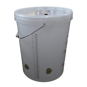 Ritchies 25 Litre Bucket with Drilled Lid and Grommet