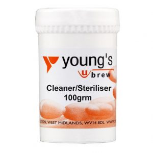 Youngs Steriliser/Cleaner 100g