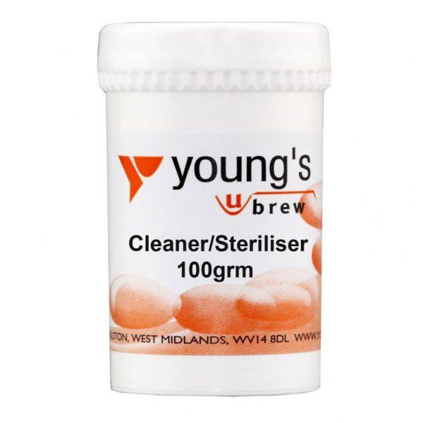 Youngs Steriliser/Cleaner 100g