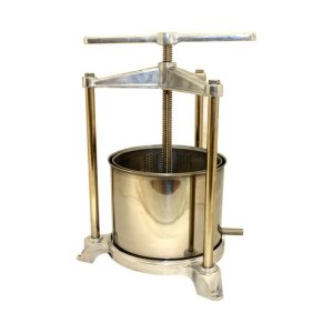 5.5 Litre Aluminium/Stainless Fruit Press