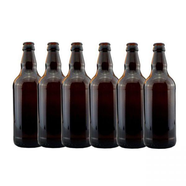 Amber Beer Bottles 500ml