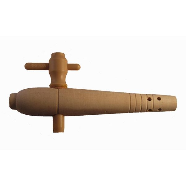 """7"""" Whitewood Wooden Tap"""