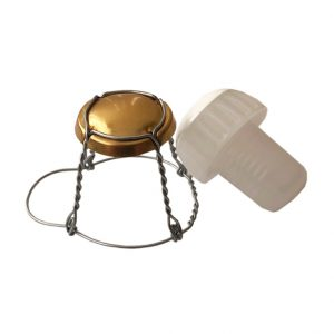 Champagne Stoppers and Cages