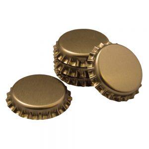 Crown Caps Gold