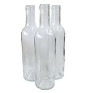 Clear Wine Bottles 37.5cl