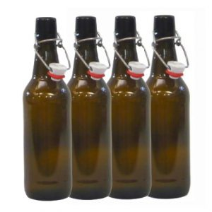 Amber Swing Top Bottles 500ml
