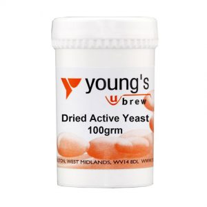 Youngs Dried Active Yeast 100g