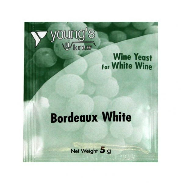 Youngs Bordeaux White Wine Yeast Sachet