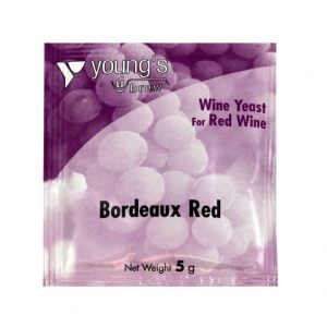 Youngs Bordeaux Red Wine Yeast Sachet