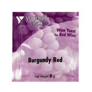 Youngs Burgundy Red Wine Yeast Sachet