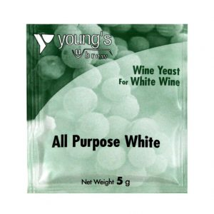 Youngs All Purpose White Wine Yeast Sachet