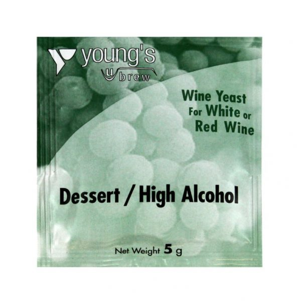 Youngs Dessert/High Alcohol Wine Yeast Sachet