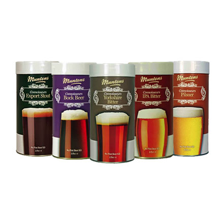 Muntons Connoisseurs Beer Kit Range