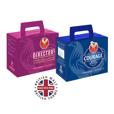 Courage Beer Kits Range