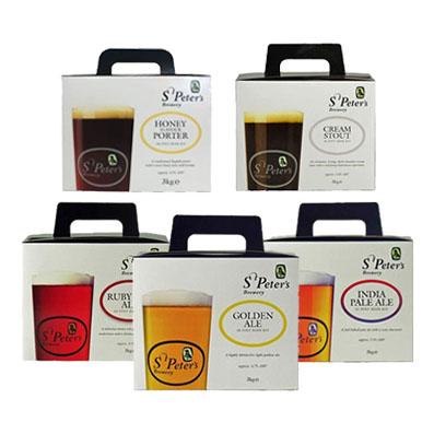 St Peters Beer Kits